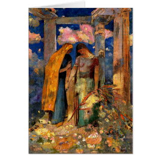 Redon - Mystical Conversation Card