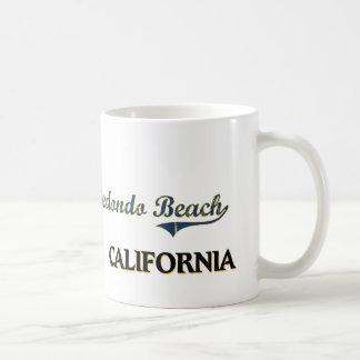 Redondo Beach California City Classic Basic White Mug