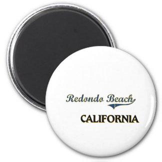 Redondo Beach California City Classic Refrigerator Magnet