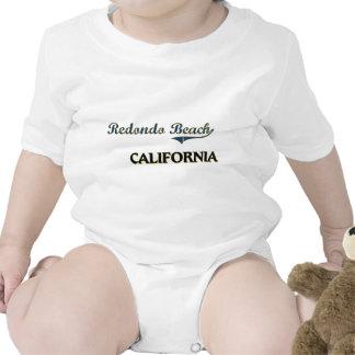 Redondo Beach California City Classic Rompers