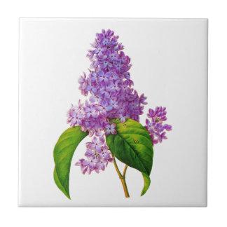 Redoute Lilacs Tile