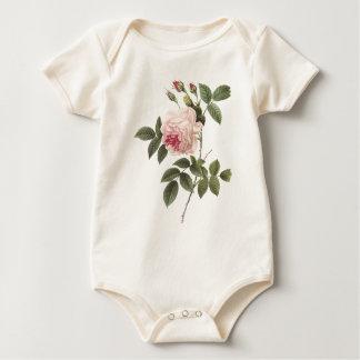 Redoute Rose 2 Baby Bodysuit