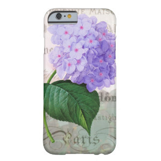 Redoute Shabby Purple Hydrangea iPhone 6 Case Barely There iPhone 6 Case