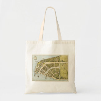 Redraft of the Castello Plan New Amsterdam in 1660 Tote Bag