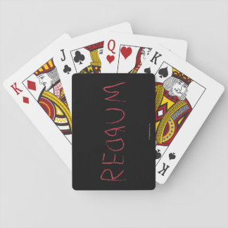 Redrum Playing Cards