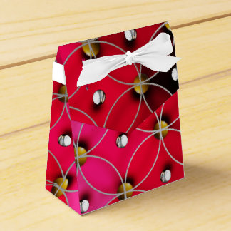 Reds and silver balls favour box