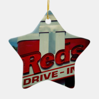 Reds Drive In Christmas Ornament