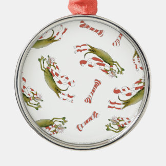 reds soccer dog bones christmas ornament