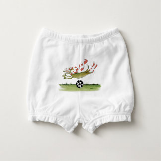 reds soccer dog nappy cover