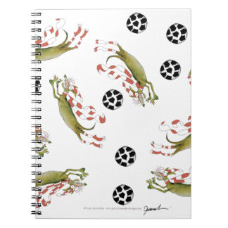 reds soccer dogs notebook