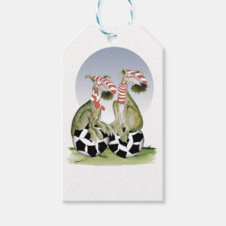 reds soccer dogs when saturday comes gift tags
