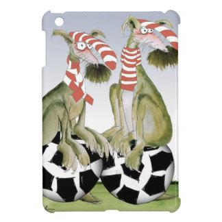 reds soccer dogs when saturday comes iPad mini cover