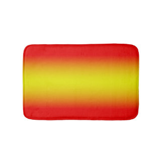 Reds to Yellows Bath Mats
