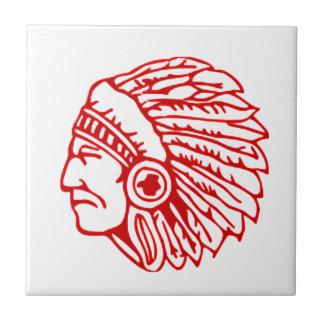 Redskin Red Indian Tile