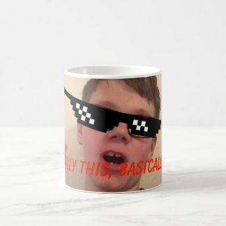 Redstone Gamer64 YouTube Mug Basically Design