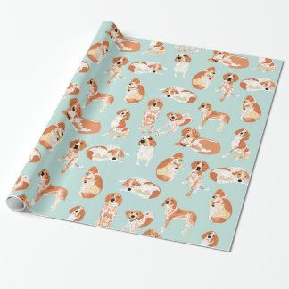 Redtick Coonhound Wrapping Paper