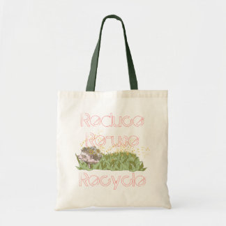 Reduce Re-use Recycle Tote Bag