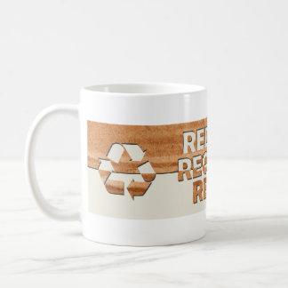 Reduce Recycle Reuse Mugs