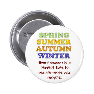 Reduce reuse and recycle button badge