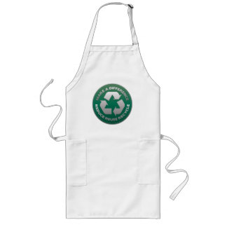 Reduce, Reuse and Recycle Stitch Apron