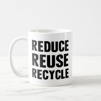 Reduce Reuse Mugs