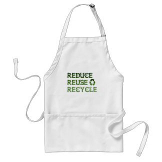 Reduce Reuse Recycle Apron