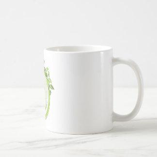Reduce Reuse Recycle around the world Basic White Mug