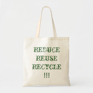 Reduce,Reuse,Recycle Bag/Tote