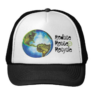 Reduce. Reuse, Recycle Cap