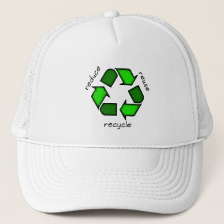 Reduce Reuse Recycle Cap
