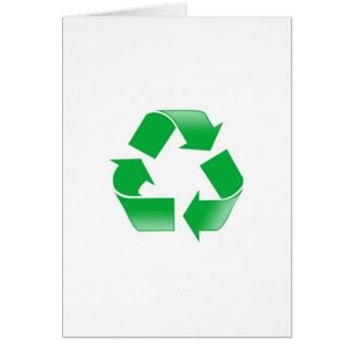 Reduce Reuse Recycle Card