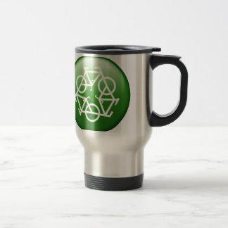 Reduce Reuse Recycle Green Bicycle Coffee Mug