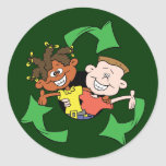Reduce Reuse Recycle Kids Sticker