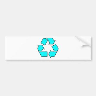 Reduce Reuse Recycle Logo Symbol Arrow 3R Bumper Sticker