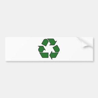 Reduce Reuse Recycle Logo Symbol Arrow 3R Bumper Stickers