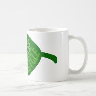 Reduce Reuse Recycle Coffee Mugs