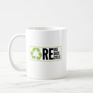 Reduce ReUse Recycle Mug