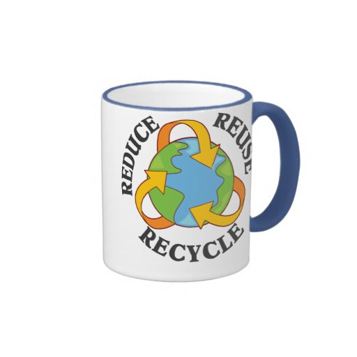 Reduce Reuse Recycle Mugs