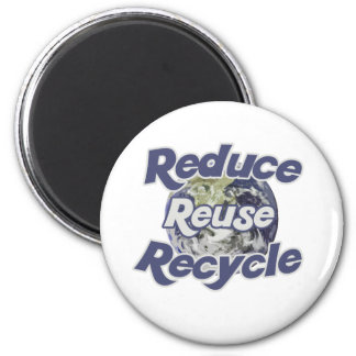 Reduce Reuse Recycle Planet Earth s Resources Refrigerator Magnets