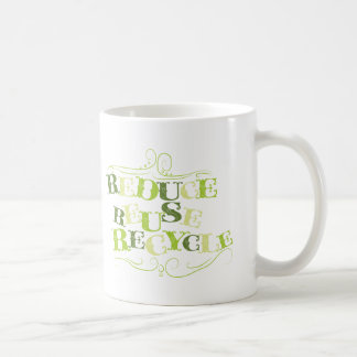 REDUCE REUSE RECYCLE.png Mugs