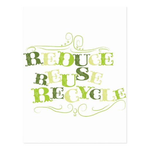REDUCE REUSE RECYCLE.png Post Cards