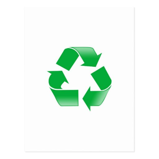 Reduce Reuse Recycle Postcard