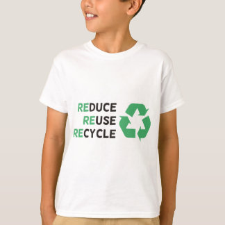 Reduce, Reuse, Recycle Products & Designs! T-Shirt