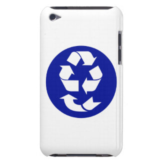 Reduce Reuse Recycle Recover Symbol (4 Rs) iPod Touch Covers