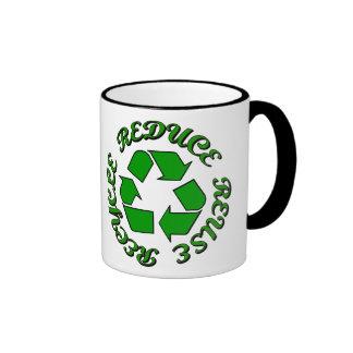 Reduce Reuse Recycle Ringer Mug