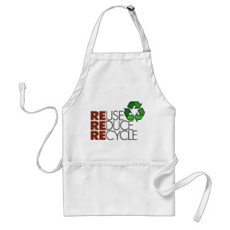 Reduce Reuse Recycle Standard Apron