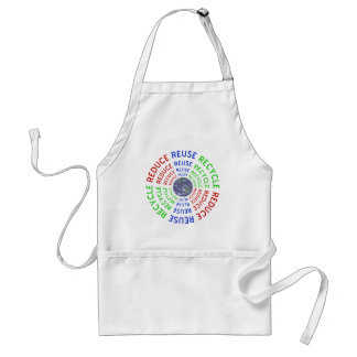 Reduce, Reuse, Recycle Standard Apron