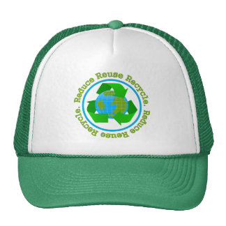 Reduce Reuse Recycle v2 Trucker Hat