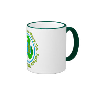 Reduce Reuse Recycle v2 Mugs