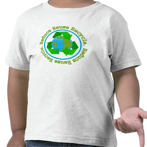Reduce Reuse Recycle v2 T-shirts